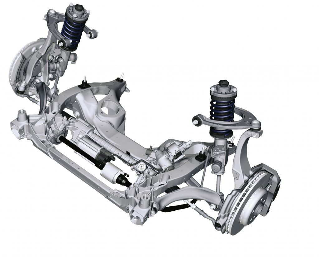 Suspension system, damping