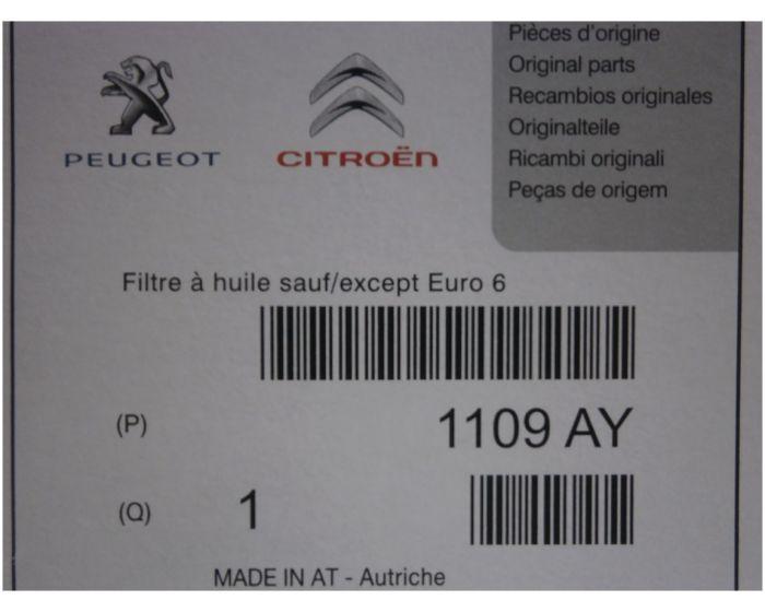 Filtron Filtre à huile OE 650//6a Pour Porsche Vw Audi Land rover