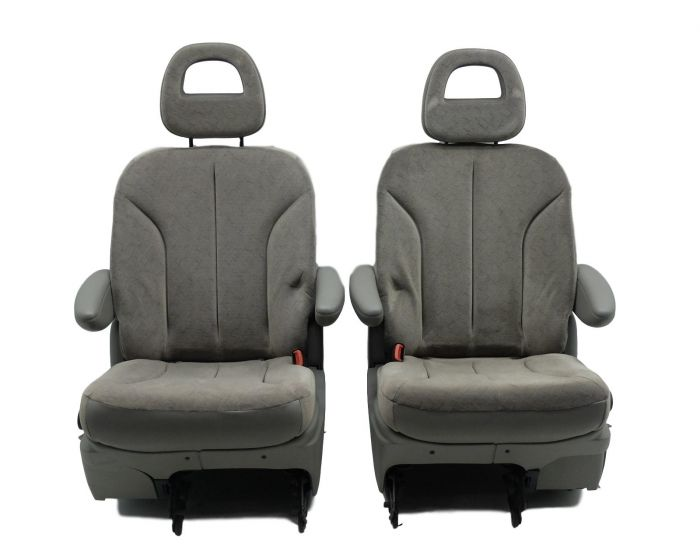 Black Grey Trax Car Seat Covers Cover For Smart Forfour For Four 2004-2006